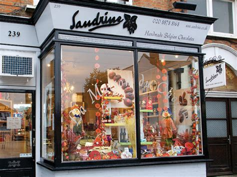 Handmade Shops - chocolate shops sandrine luxury belgian