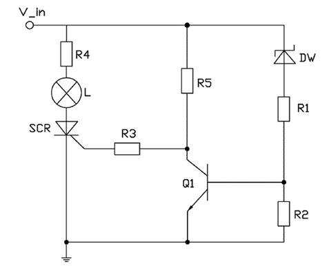 simple circuit hobby electronics circuits simple electronic fuse