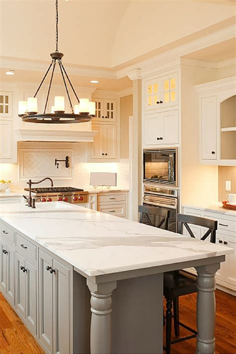 best kitchen island design top 38 best white kitchen designs 2017 edition