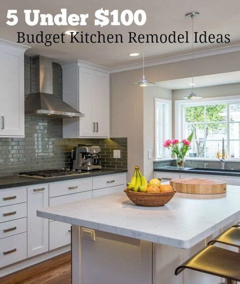 design notes kitchen makeover on a budget counters and tile 1000 ideas about budget kitchen makeovers on pinterest