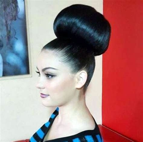 hairstyles with big buns 17 best images about buns on pinterest top bun hair