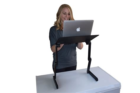 standing computer desk amazon amazon com workez professional ergonomic aluminum laptop