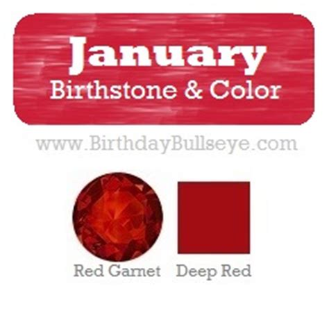 january birthstone color january birthstones a month of power and