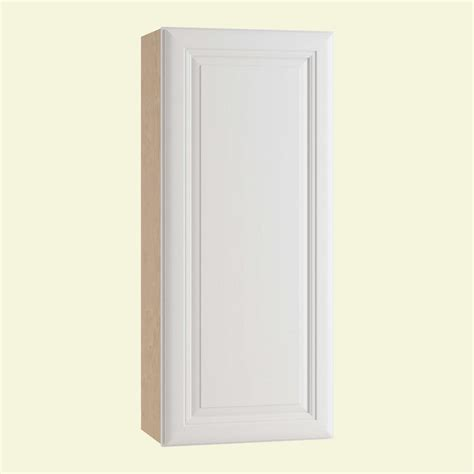Single Wall Kitchen Cabinets Home Decorators Collection Brookfield Assembled 18x42x12 In Single Door Hinge Right Wall
