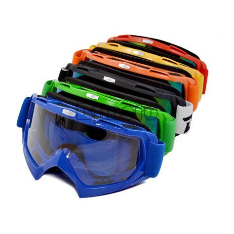 motocross goggles ebay motocross atv dirt bike goggles eye wear clear lens