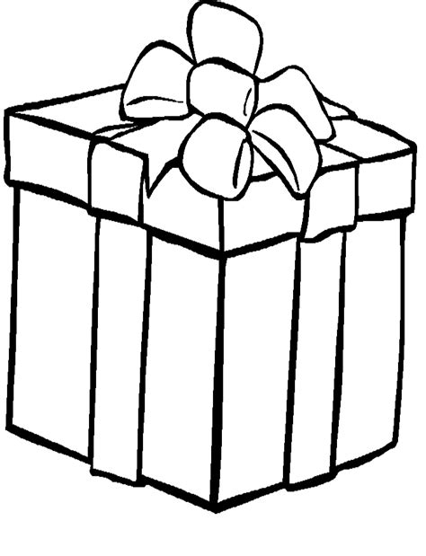 coloring pages of a christmas present presents coloring page az coloring pages