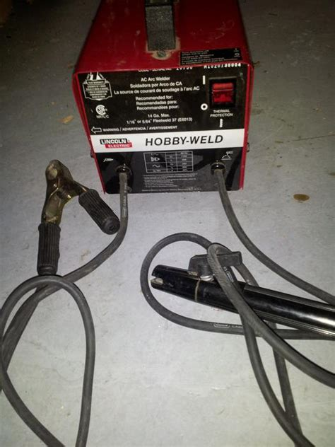 lincoln hobby welder lincoln 120v hobby arc welder esquimalt view royal