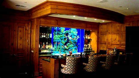 How To Tank A Basement - the aquarium connection beautiful bar aquarium youtube