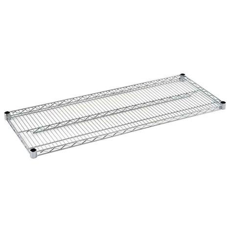 sandusky 2 in h x 48 in w x 18 in d steel wire shelf in