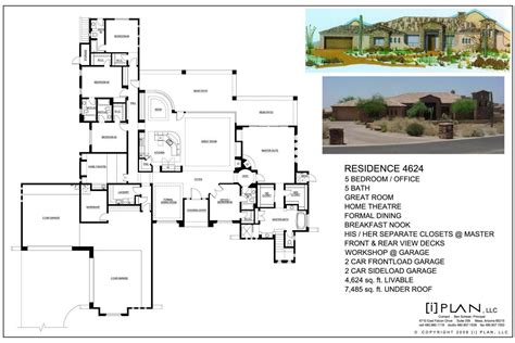 5000 Sq Ft House Plans by Floor Plans To 5 000 Sq Ft