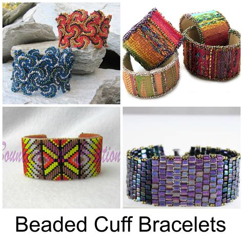 how to make beaded cuffs 9 tutorials to try
