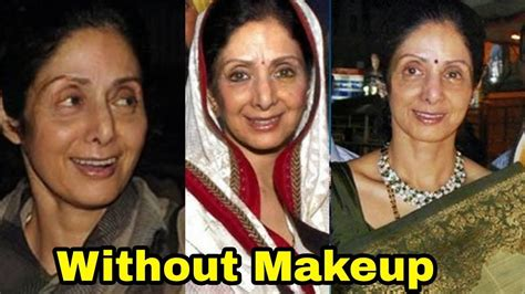 sridevi without makeup sridevi shocking look without makeup you won t believe