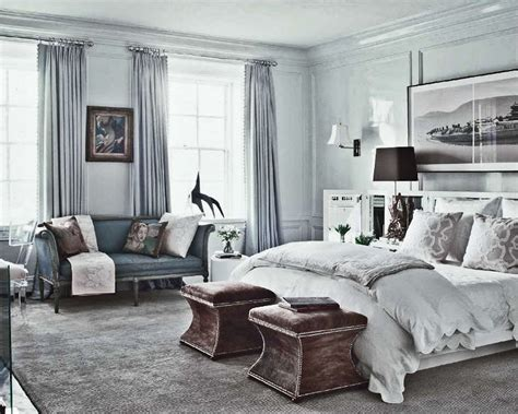 gray blue bedroom ideas simple everyday glamour picture perfect bedroom