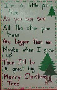 the little christmas tree poem kinderkorner poems to use in classroom