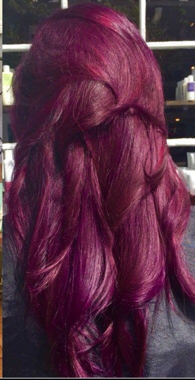 raspberry orchid hair color hair dreams