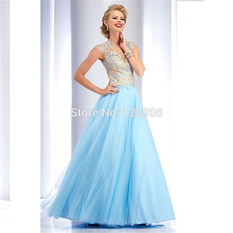 Blue Baby Dress baby blue prom dresses promotion shop for promotional baby