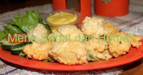 Minyak Goreng Hemat menu sehat dan hemat baso goreng ikan tenggiri