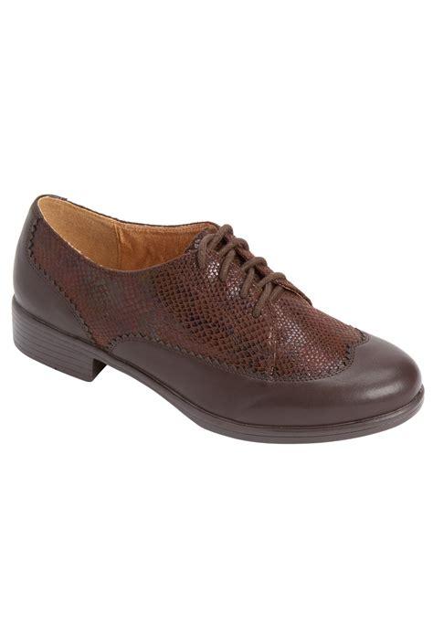 comfort view shoes reagan oxford shoes by comfortview plus size shoes