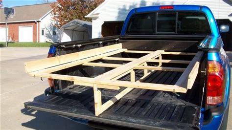 plywood rack  toyota tacoma pickup  mls