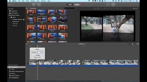 tutorial imovie indonesia imovie tutorial 2015 insert video cut away and spl