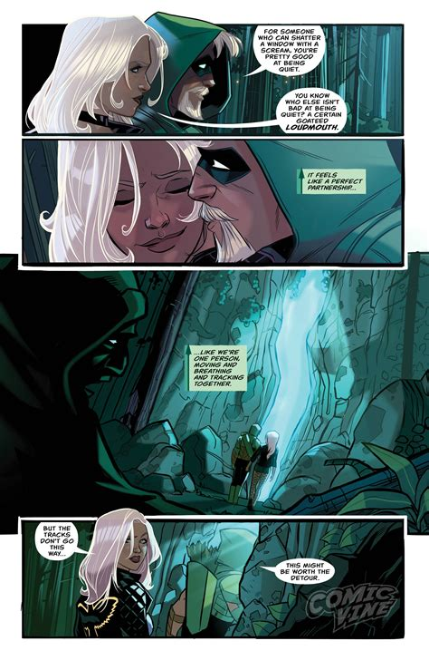 exclusive preview green arrow 9 comic vine