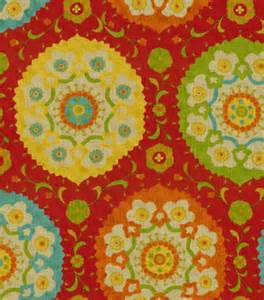 Joann Decorator Fabrics by Home Decor Print Fabric Richloom Studio Marmande Garden