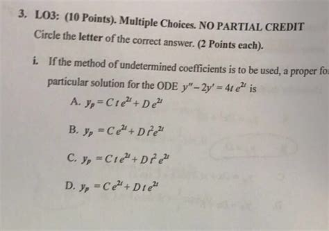 Letter Of Credit Questions And Answers solved lo3 10 points choices no partial cre chegg