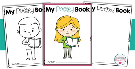 poetry templates for poetry book template k tutoring