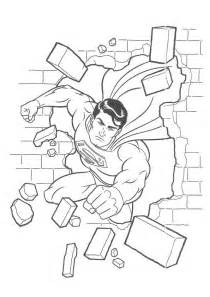 Free superman coloring pages on batman and superman coloring pages