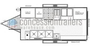Concession Stand Floor Plans Food Concession Trailer Food Trucks For Sale Rental