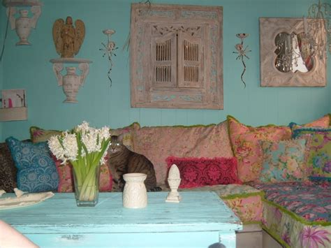 Vintage Shabby Chic Living Room Furniture Shabby Chic Slipcovered Sofa Eclectic Living Room New York By Donna Vintage Chic