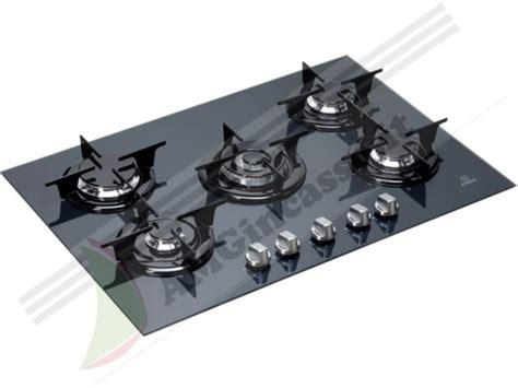 piano cottura ariston 5 fuochi vetro ipg751sgr piano cottura 75 incasso cucina indesit ipg