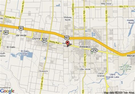 map of weslaco texas map of fairfield inn weslaco weslaco