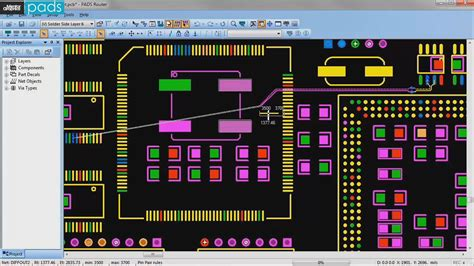 pads layout video tutorial pads hi speed router tutorial