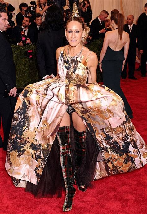 Sarah jessica parker wardrobe malfunction pictures photos