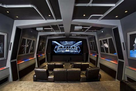 Living Room Theaters Wars Pics Of The Best Wars Inspired Home Theaters