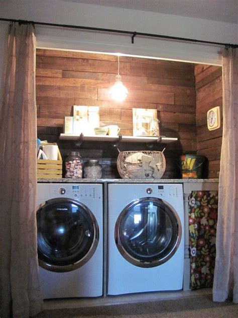 17 Best Ideas About Laundry Room Curtains On Pinterest Small Laundry Hers