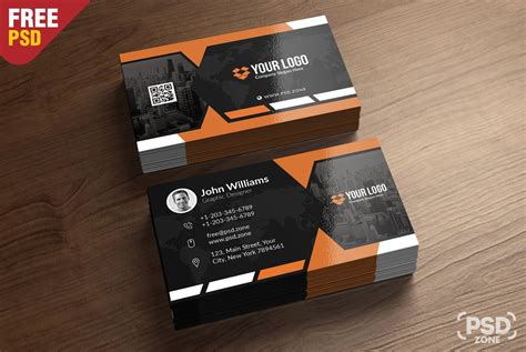 free buisness card templates free business card template psd