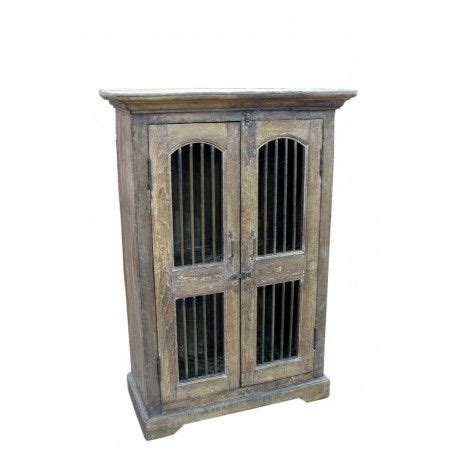 old world armoire old world distressed armoire with iron bar doors