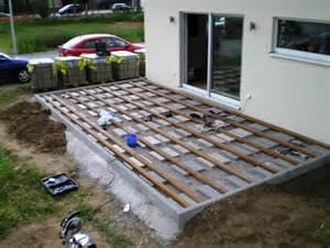 fertig terrasse nadine und sven bauen ein haus terrasse ist fertig