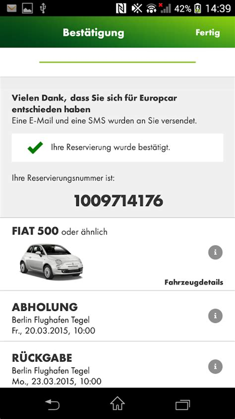 Europcar Auto Mieten by Europcar Autovermietung Android Apps Auf Play