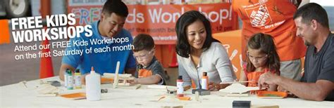 free workshop at home depot july 5th 2014 coupon wahm