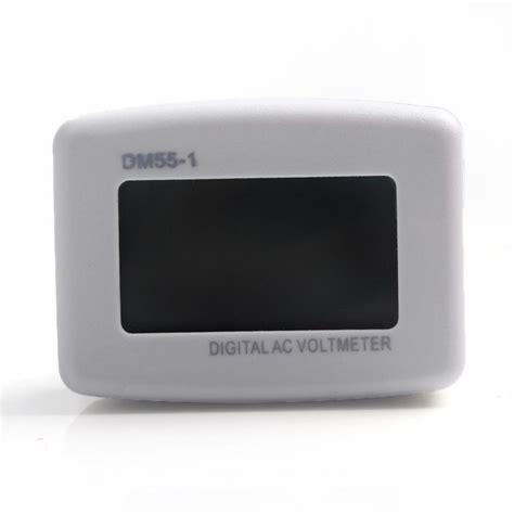 Voltmeter Digital Ac Eu 80 300v Alat Pengukur Listrik voltmeter digital ac eu 110 300v alat pengukur listrik white jakartanotebook