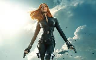 Black widow captain america the winter soldier wallpapers hd