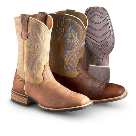 s ariat 174 quickdraw boots 282588 cowboy western