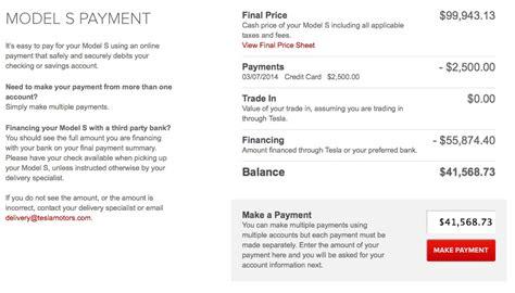 Tesla Payment Plan Paying For The Car Tesla Living