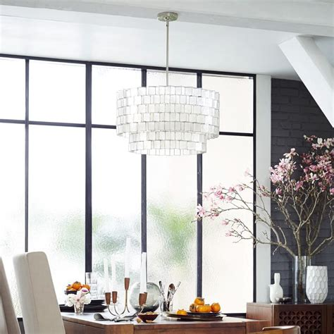 West Elm Zigzag Curtain Inspiration West Elm Capiz Capiz Zigzag Chandelier West Elm Ideas