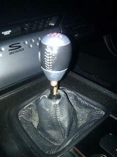 S2k Shift Knob by Shift Boot Knob Problem S2ki Honda S2000 Forums