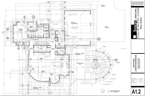 draw plan set of construction drawing for custom home synergy architect planning frank farzan
