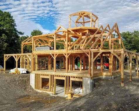 frame homes by mill creek post beam company timber frame home plans pennsylvania